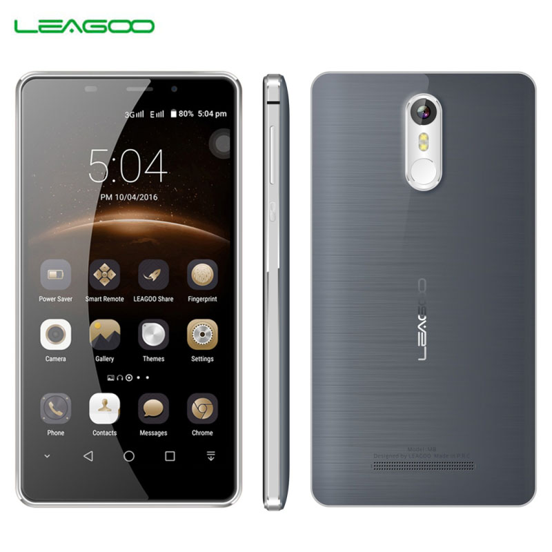 Original LEAGOO M8 16GB 2GB font b Smartphone b font 0 19s Fingerprint 5 7 2