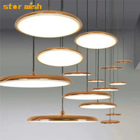 Star wish Pendant Lights Dining Room Hunging Lamps Modern Colorful Iron Solid Wood Restaurant Coffee Bedroom Lighting