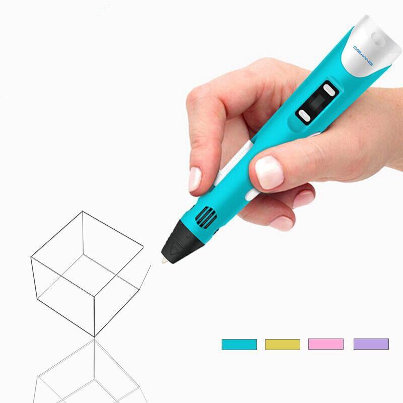 Eerlijk Nieuwe Collectie Originele Abs/pla Diy 3d Afdrukken Micron Pen Met 4 Kleur 1.75mm Doodle Pen Met Gratis Filamenten Beste Voor Kinderen Professioneel Ontwerp