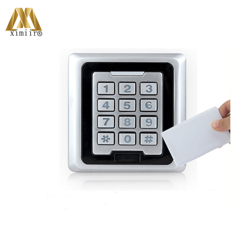 High Quality IP68 Waterproof Single Door Standalone 8000 User MF IC Card Reader M03-F With Key Access ControlHigh Quality IP68 Waterproof Single Door Standalone 8000 User MF IC Card Reader M03-F With Key Access Control