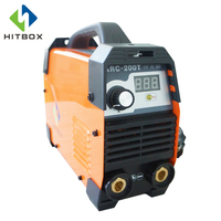 HITBOX MMA WELDING MACHINE 220V ARC ZX7 WELDER FOR CARBON STEEL ARC200T DC INVERTER 200A WITH EARTH CLAMP ELECTRODE HOLDER