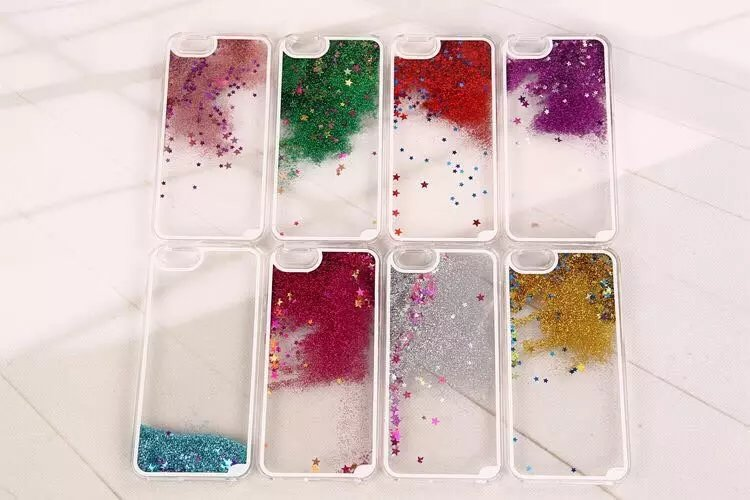 Fashion Trends Liquid Sand Small Stars For Iphonex Xr Xsmax Xs 8 8plus 7 7plus 6 6plus Super Protection Of Mobile Phone Shell Limpid In Sight Phone Bags & Cases