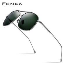 Reinem Titan Polarisierte Sonnenbrille Männer Klassische Quadrat Sonne Gläser für Männer 2019 Neue Hohe Qualität Männlichen Ultraleicht Shades Sonnenbrille