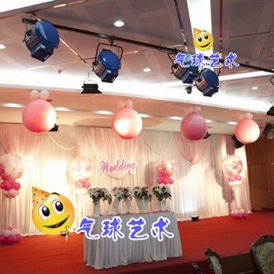 Wedding Stage Background Effects Bursting Balloon Decoration Balloon