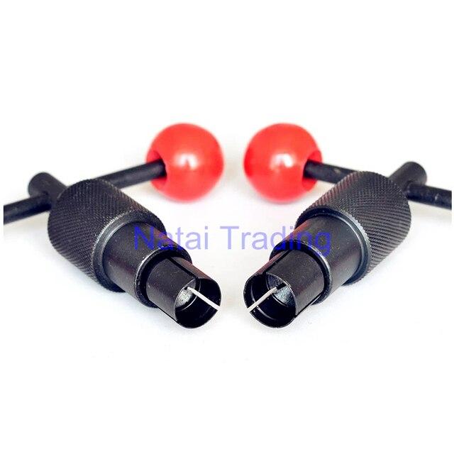 보쉬 커먼 레일 인젝터 밸브 제거 도구, 110 및 120 시리즈 디젤 인젝터 밸브 캡 추출기 인젝터 수리 도구