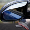 2 x Car Rear View Side Mirror Rain Snow Board Sun Visor Shade Shield Water Guard For VW Nissan Toyota Audi BMW Ford Chevrolet