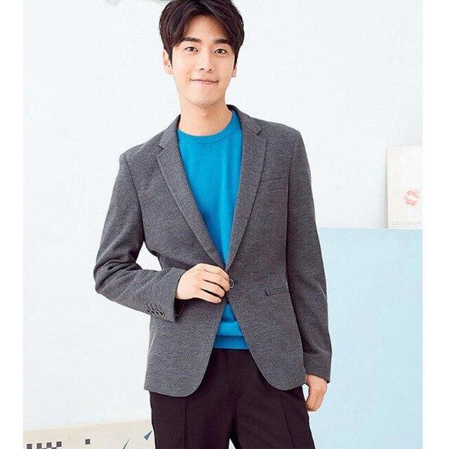 Зимний мужской пиджак высокое качество толстый костюм классический стиль моды a зерна кнопки костюм бизнес случайный куртка