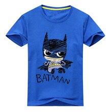 2017 Baby New Cotton Printing Clothes Boy Cartoon T-Shirt Girl Summer T-shirt Children Short Sleeve Tee Tops For Kids ACY031