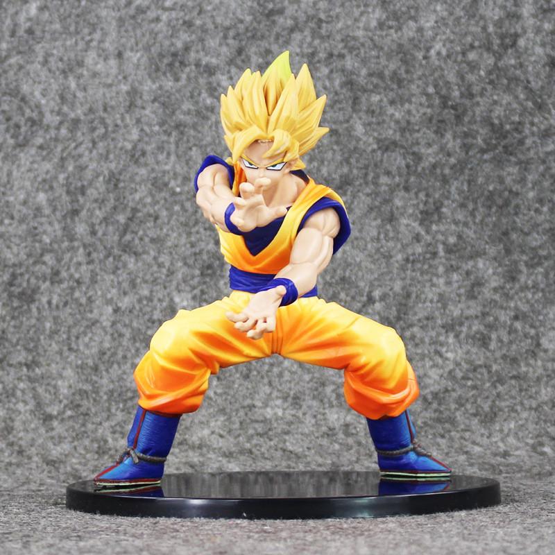 "6"" 15cm Dragon Ball Z Super Saiyan Son Goku"