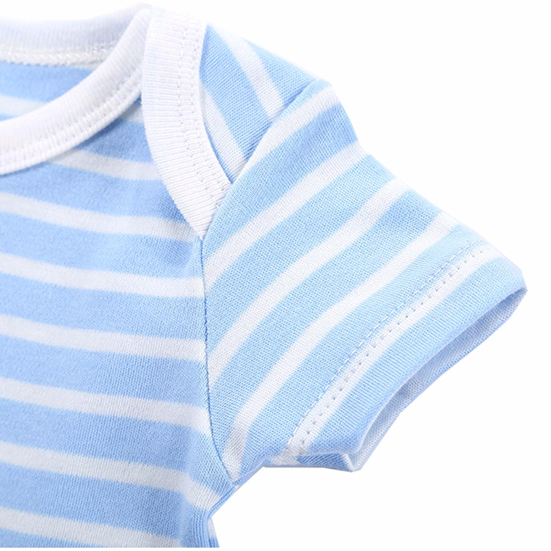 Newly 2016 Baby Clothing 5 Pcslot Newborn Body Baby Rompers Triangle Cotton Jumpsuit Nest Infant Pajamas Baby Boy Girl Clothes (10)