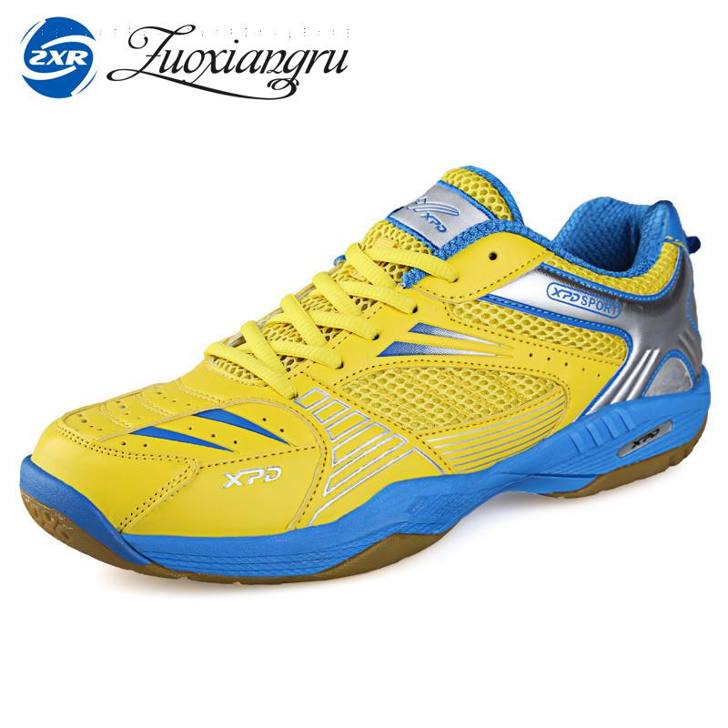 Zuoxiangru Badminton Shoes Sports Shoes For Men Women  And Breathable Mesh Indoor Court Sneakers