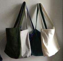 Descendants of the sun, Song Hye Kyo New fashion women canvas shoulder bucket tote bag