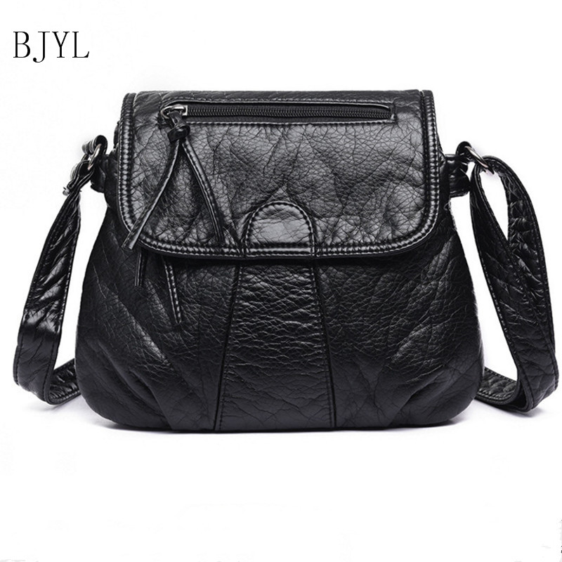 100% Genuine Leather Classic Fashion Female Shoulder Bag women handbag Vintage Messenger Bag Motorcycle Crossbody Bags Women Bag hahmes 100% genuine leather women saddle bags women fashion shoulder bag female vintage design small shoulder bag 23cm 10849