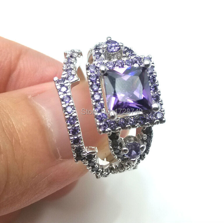 aeproduct - Amethyst Wedding Rings