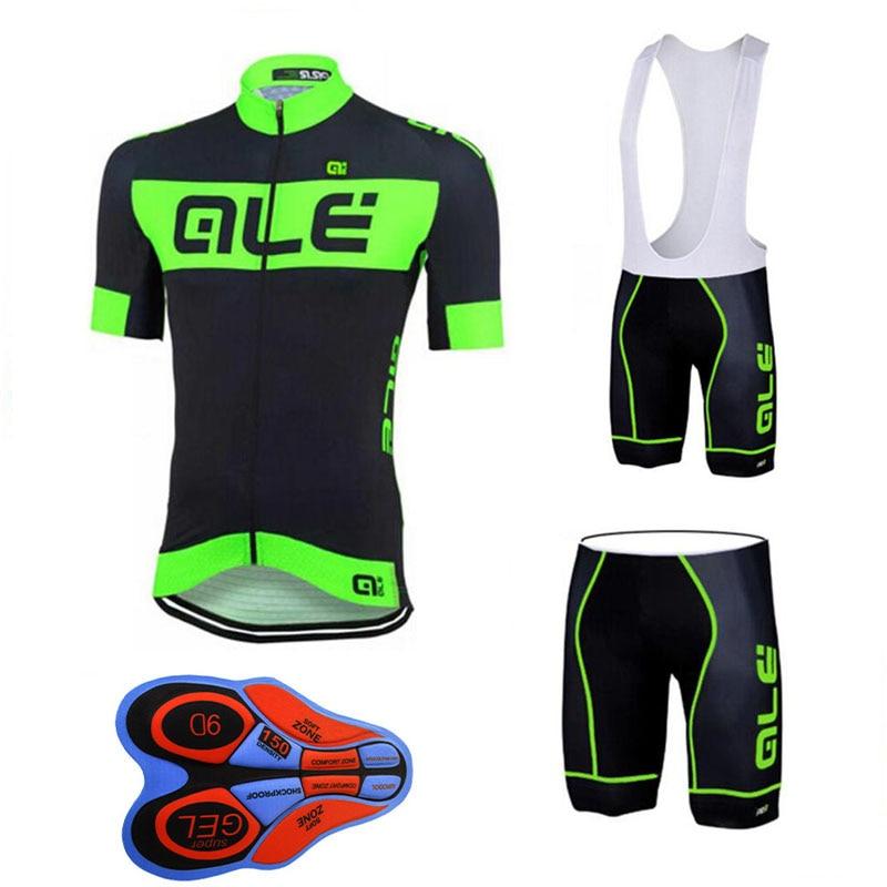 цена на ALE summer men short sleeve cycling jersey cycling clothing ropa Ciclismo quick dry racing bike shirts mtb bicycle shorts