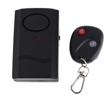 Security Wireless Remote Control Vibration Car Motorcycle Alarm Theft Protection ME3L