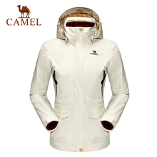 Camel Outdoor Lover's Jackets Men Women Triple Warm Jacket Sport Active Climbing Hiking Coat A6W170141