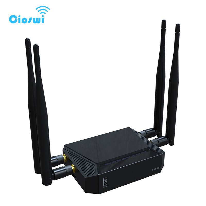 Image 2 - 3g 4g openwrt wireless router with sim card slot 2.4GHz 300Mbps 128MB English version wifi routers-in Wireless Routers from Computer & Office