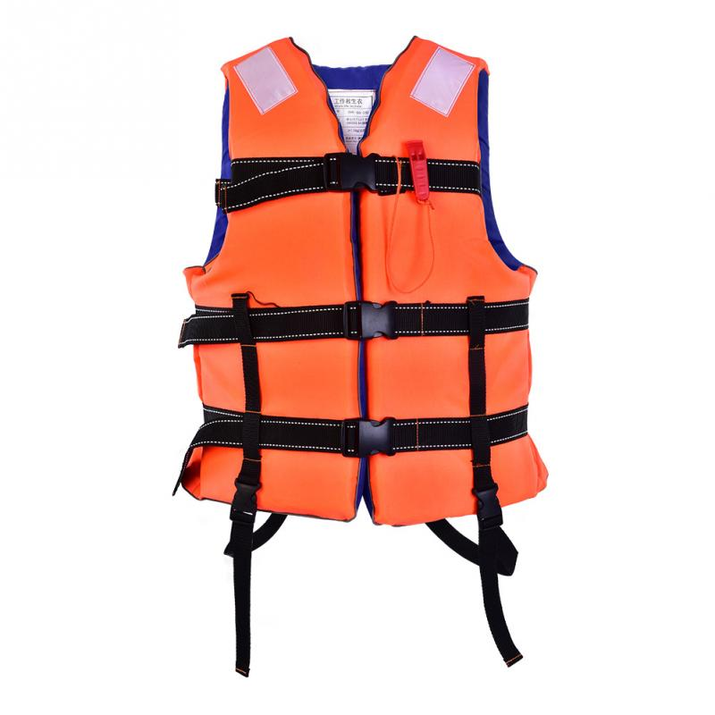 Portable Fishing Vest Thicken Foam Boating Drifting Sailing Swimming Life Vest Strong Buoyancy Safety Fishing Life Vest Without Return Fishing Vests