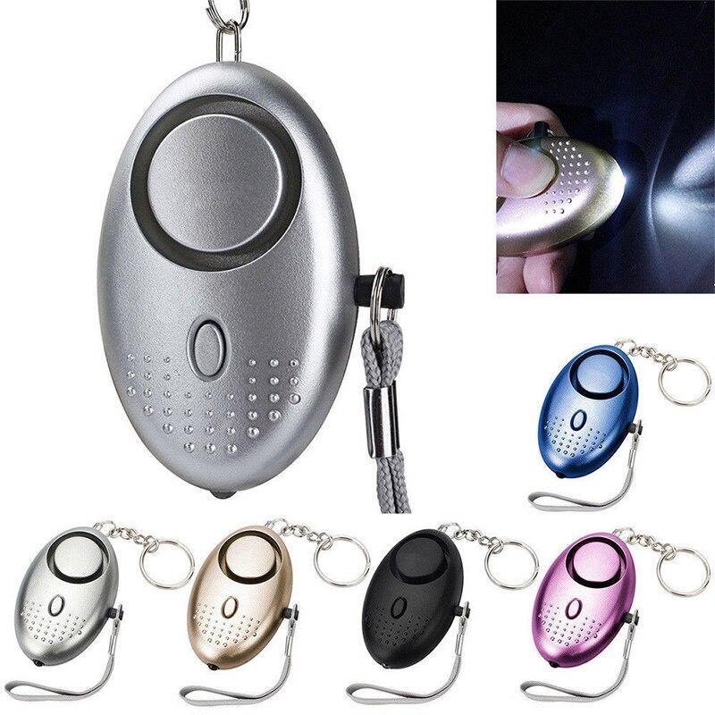 6 V Persönliche Verteidigung Schutz Käfer Alarm Keychain 130db Frauen Notfall Alarm Mit Led Sicherheit & Schutz
