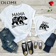 Mama Bear Baby Bear Matching Shirts Mommy and Me T Shirts Wo