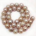 16 inches 12-13mm Natural Lavender Potato Freshwater Pearl Loose Strand