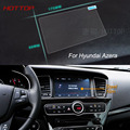 7 Inch GPS Navigation Screen Steel Protective Film For Hyundai Azera Control of LCD Screen Car Styling Sticker