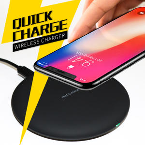 WLMLBU 10 W Qi Wireless Charger for iPhone 8/X Fast Wireless Charging