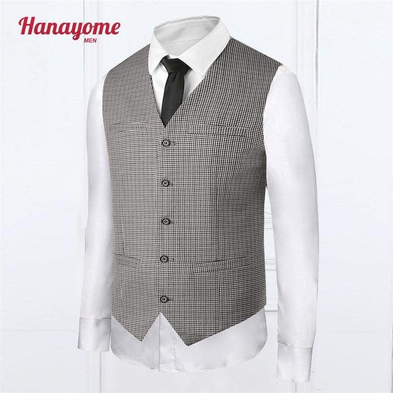 Men's Vest To Wear To A Fall Wedding 2017 Mens Rhinestone Suits Plaid Stripe White Men Wedding Jackets Sleeveless Vests SI07