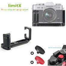 Xt30 Xt20 Xt10 Quick Release L Plate Holder Hand Grip Tripod Bracket & 2x Shutter Release Button for Fujifilm X T30 X T20 X T10