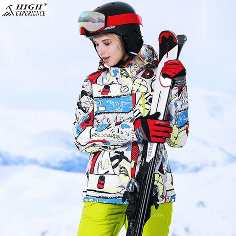 High Experience Ski Jacket For Women Winter Sport Coat Warm Snowboard Jackets Female Russian Skiing And Snowboarding Jackets недорго, оригинальная цена