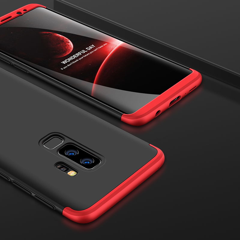 newest ad48a 9630d US $3.43 14% OFF|GKK For Samsung Galaxy S8 S8+ Plus Case 360 Full Body  Protection Anti knock 3 in 1 Hard Hybrid PC Shell For Samsung S9 S9+  Plus-in ...