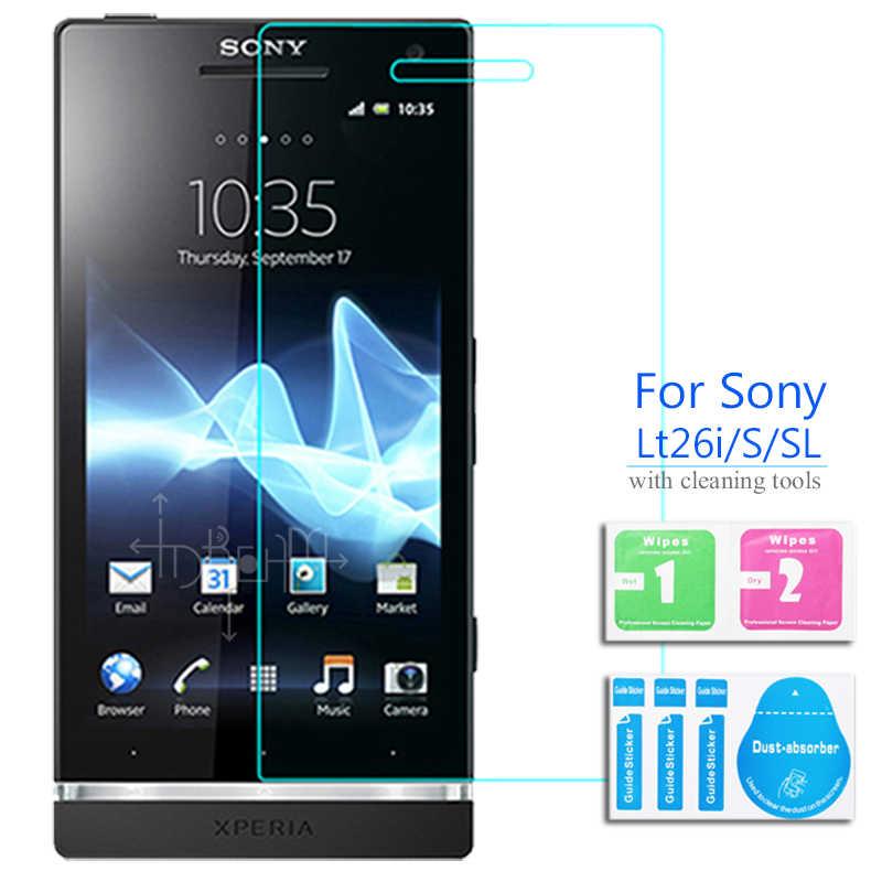 2Pcs Pelindung Layar Anti Gores untuk Sony Xperia T2 Ultra T3 C C2305 C3 C4 C5 S SL Lt26 lt26i SP T 2 3 C 4 5