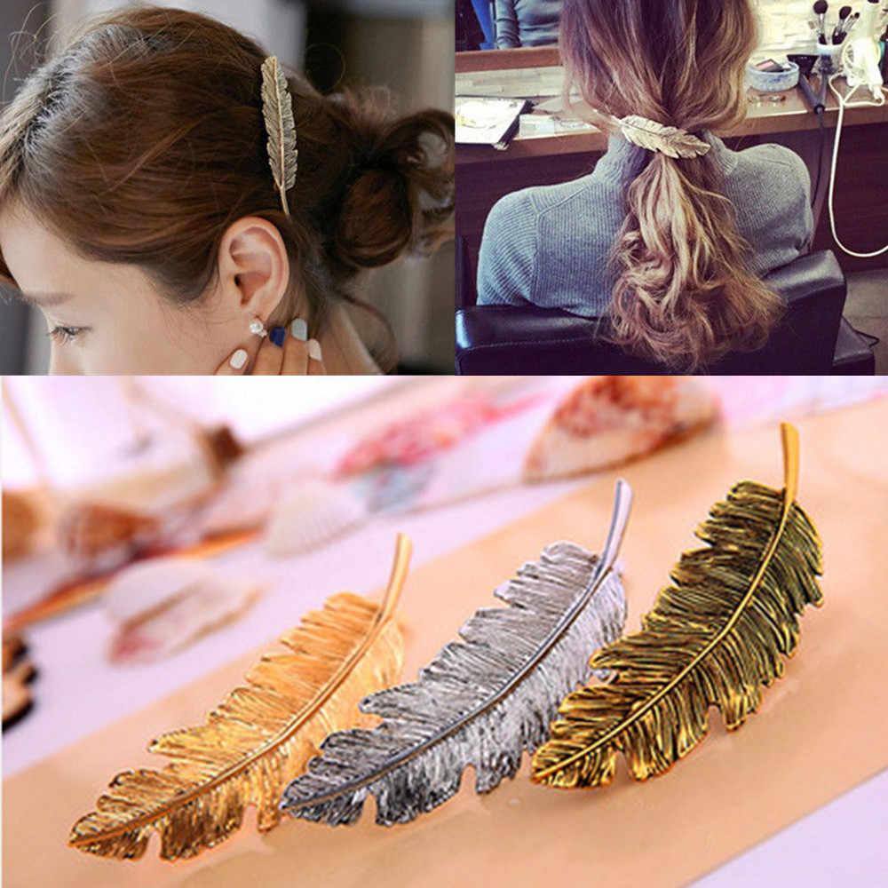 Womens Girl Acrylic Hair Clips Hairpin Barrette Snap Bobby Pin Hair Accessories
