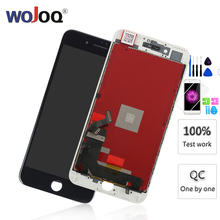 100% AAA+++ LCD For iPhone 7 7 Plus 8 8 Plus LCD Display Touch Screen Assembly Replacement Good 3D touch for iphone7 все цены