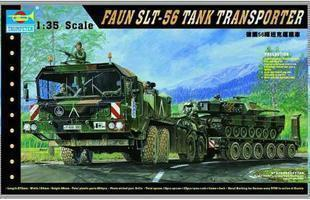 1/35 Military Vehicle Model Germany 56 Ton Elephant Tank Carrier 00203 цена 2017