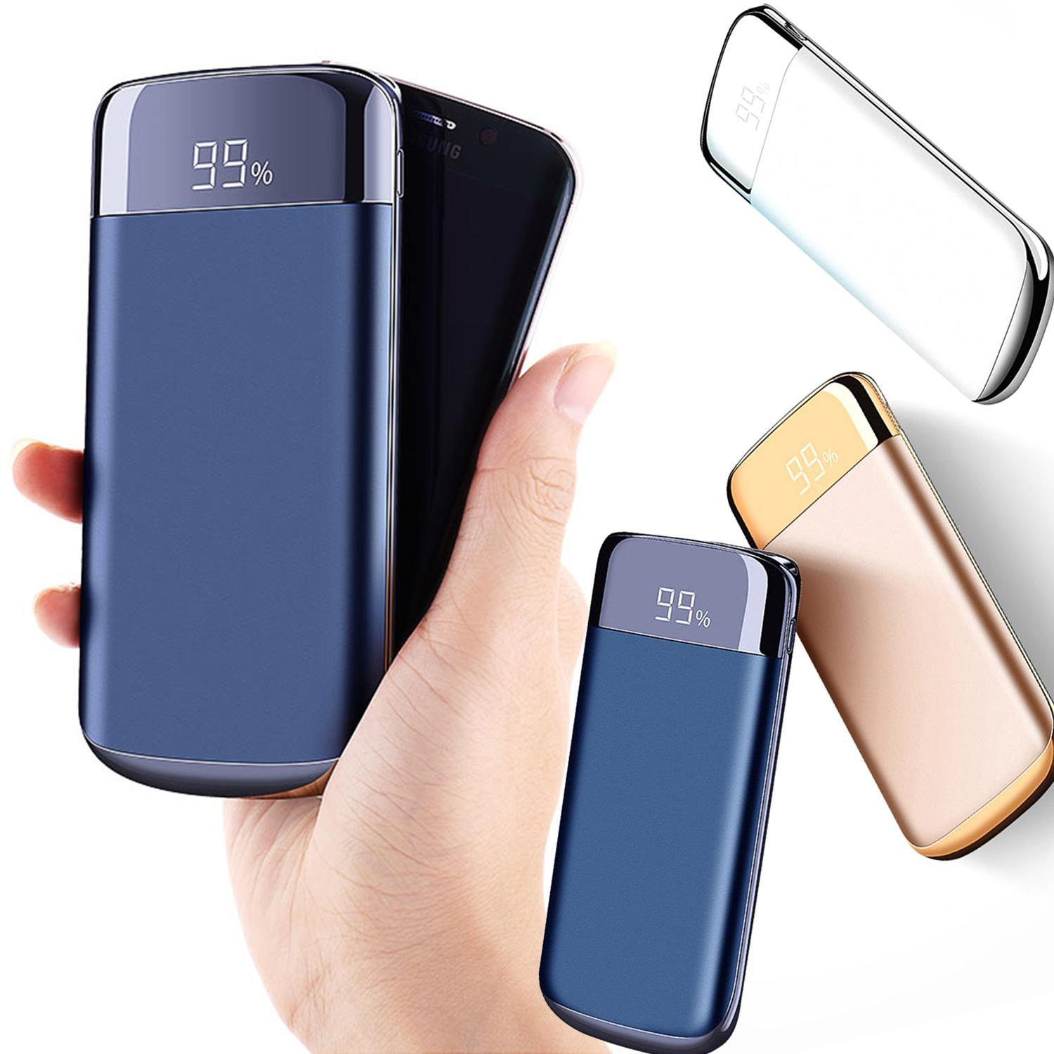 961ae8d8b74bd7 20000mAh Power Bank Fast charge Original Dual USB Mobile phone External  Portable Charger Powerbank 18650 Battery for all phone