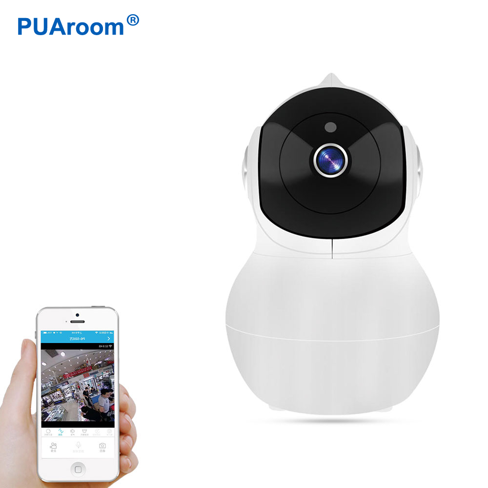 PUAroom Low cost 960P wifi wireless ip camera with night vision infrared IR-CUT for Home security