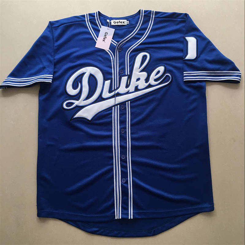 Free shipping Gefex sewing men's jerseys Laettner #32 Baseball Jersey blue black Throwback big size S-5XL personalized brand baseball jerseys 28 s xx coolbase