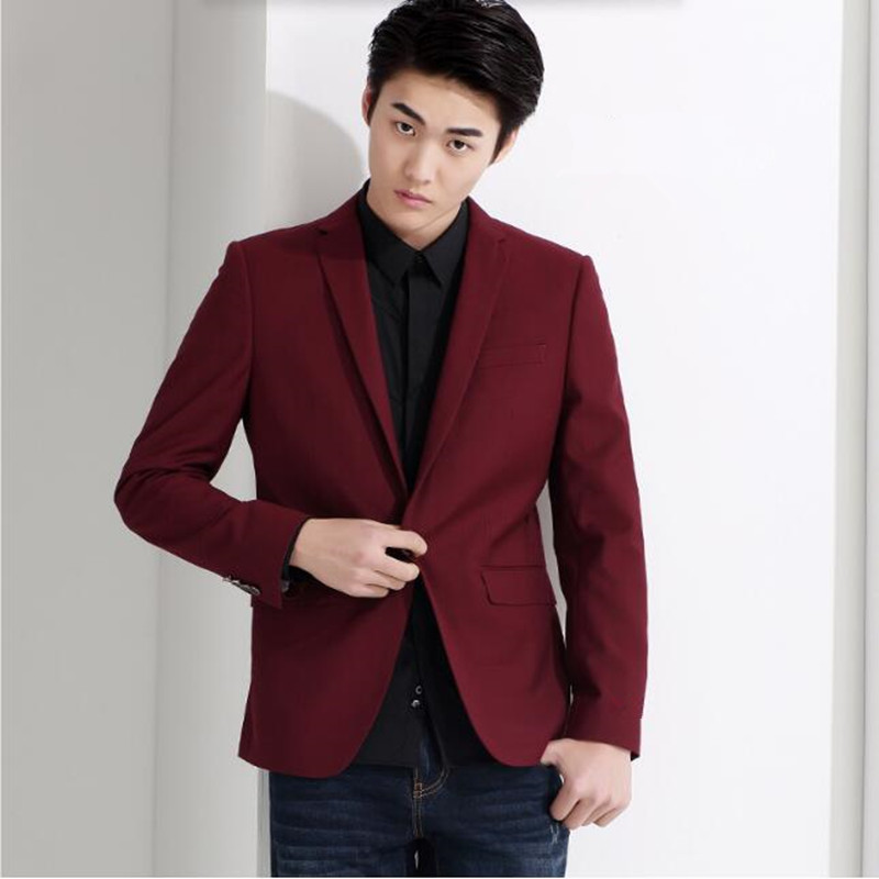 Red and black men suits jacket stylish elegant formal business ...