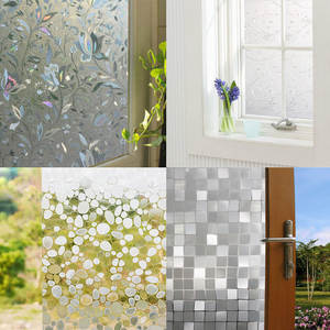 Glass-Stickers Window-Film Frosted Bedroom Home-Decor Opaque Living-Room Self-Shading