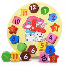 Wooden Digital Clock Toys