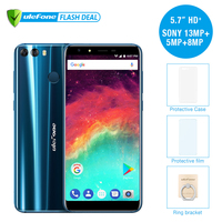 Ulefone MIX 2 4G Mobile Phone 5 7 HD MTK6737H Quad Core Android 7 0 2GB
