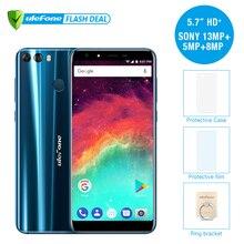 Ulefone MIX 2 4G Mobile Phone 5.7″ HD+ MTK6737 Quad Core Android 7.0 2GB RAM 16GB ROM Fingerprint 13MP Dual Camera Cellphone