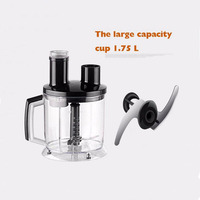 Multi Function Food Processor Electric Blender Stainless Steel Meat Grinder Fruit Milk Shake Mixer M 12