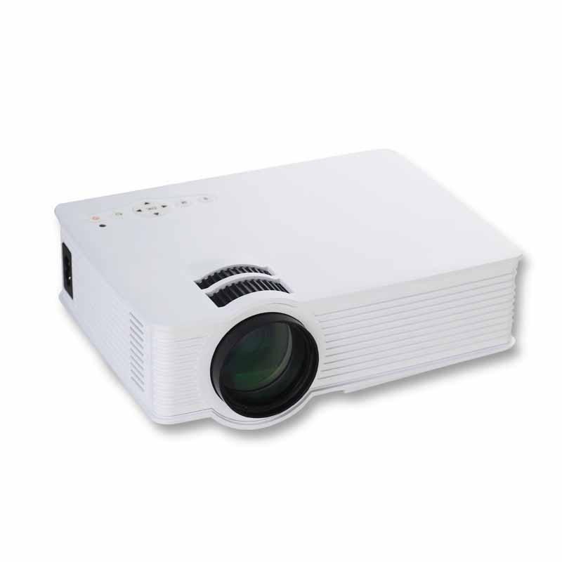 GP-9 Mini Home Cinema Theater HD LCD Projector 2 USB 1900 Lumens 1920 x 1080 Pixels Video Micro piCo Teaching Projector