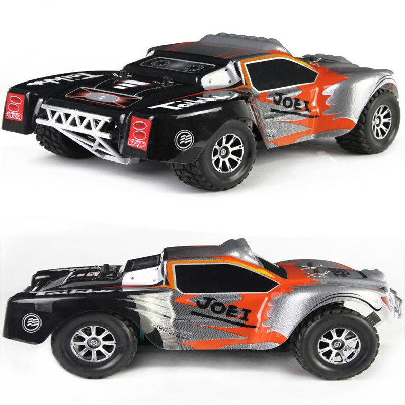 1 :18 2.4Ghz A969 RC Car Radio Rechargeable Off-Road RC Car Remote Control Car Voiture Telecommande Vehicle Model Truck Toys