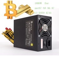 Asic Bitcoin Miner Power Supply 1800W Psu Antminer S7 A6 A7 S7 S9 L3 BTC Miner
