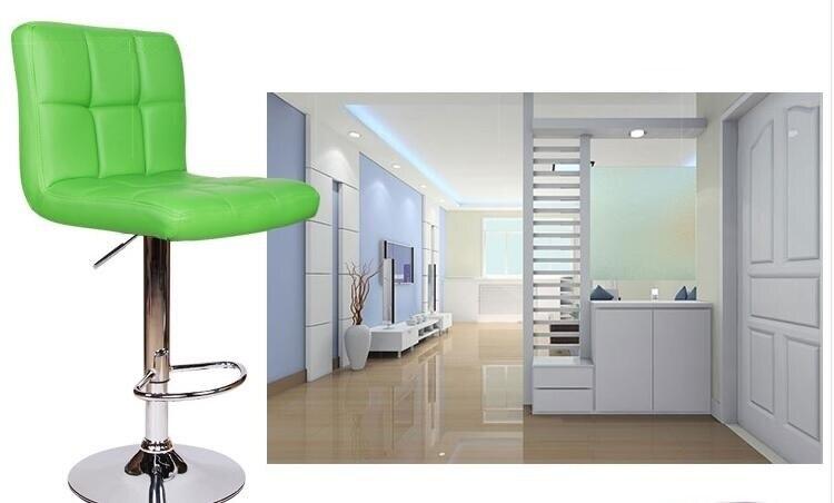 hair salon chair green red color hair dressing shop stool free shipping - Salon Chair