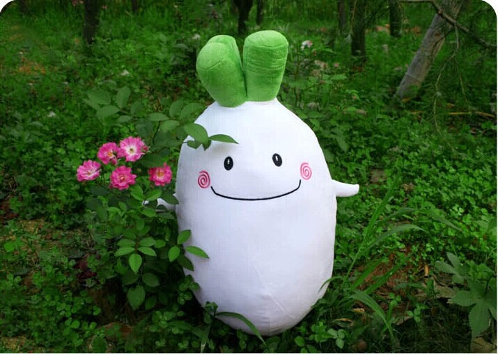 stuffed 70 cm radish plush toy soft doll gift w2154 stuffed animal 120 cm cute love rabbit plush toy pink or purple floral love rabbit soft doll gift w2226
